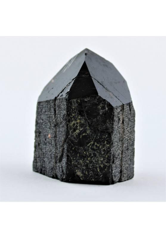 Minerales Punta TURMALINA NEGRA Terapia de Cristales Chakra Zen 43g High Quality-1