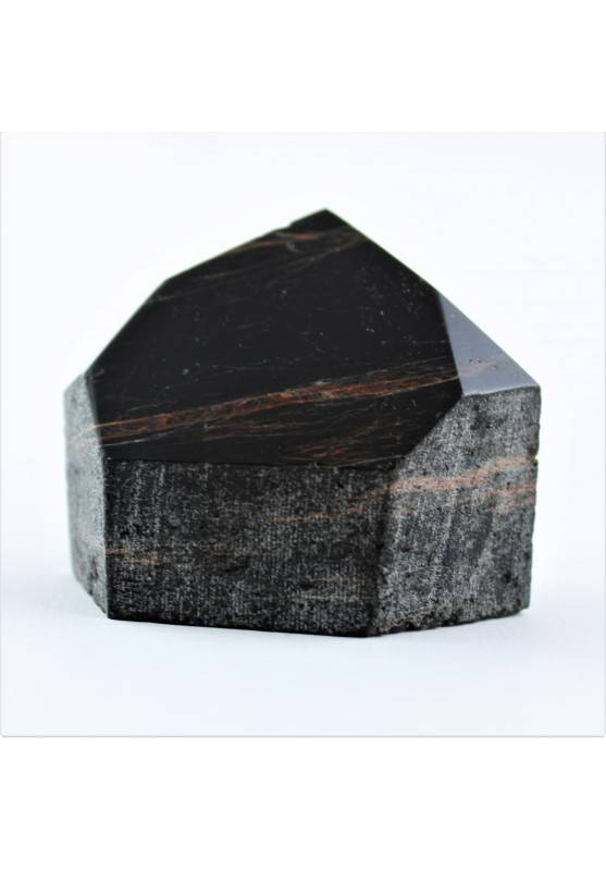Minerali TORMALINA NERA Punta Ottima Pietre Dure Grezza Alta Qualità Zen A+-1
