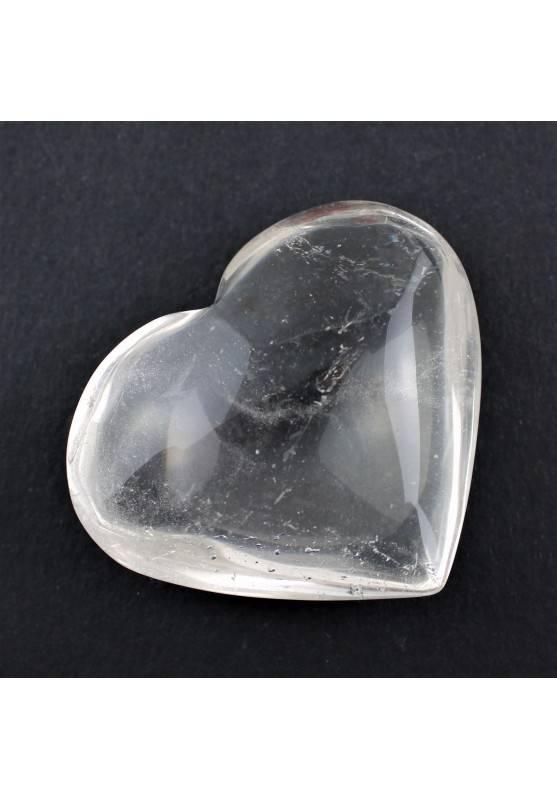 CORAZÓN Cuarzo Blanco Rodado Minerales Alta Calidad Terapia de Cristales Amor A+-1