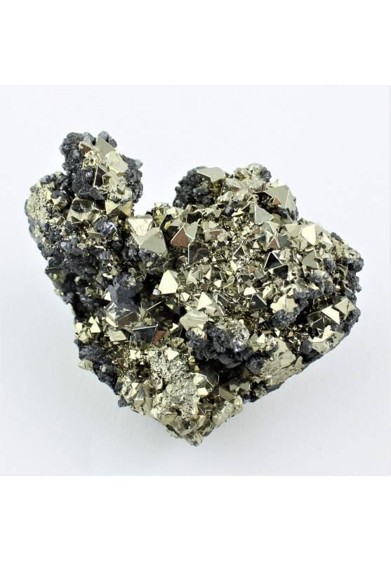 Hermosa PIRITA con Marcasita Minerales Decoración de Hogar Alta Calidad 250g A+-2