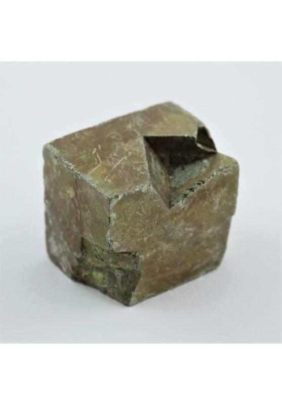 PIRITE Cubica Grande Minerali Arredamento Alta Qualità A+ Cristalloterapia 114g-1