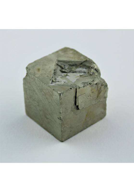 PIRITA Cubica Minerales Alta Calidad Terapia de Cristales Decoración de Hogar A+-1