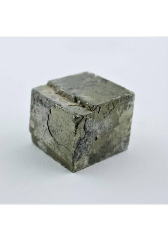 Minerales PIRITA Cubica en Bruto Decoración de Hogar Alta Calidad 118g A+-1