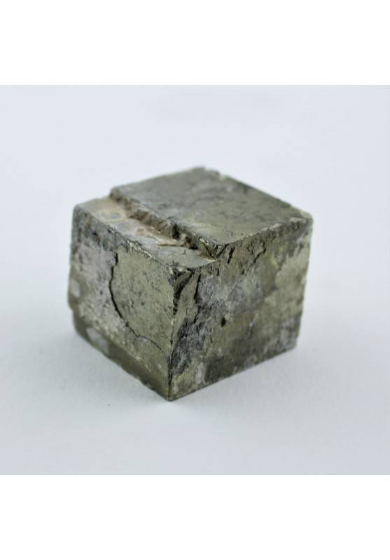 Cubic Pyrite Rough High Quality Minerals Chakra Crystal Healing Specimen A+ 118g-1