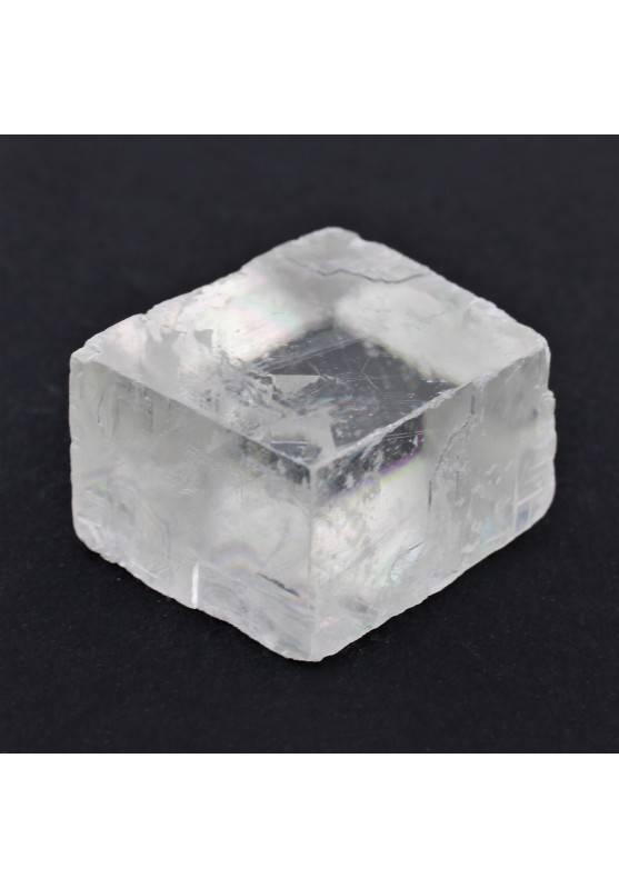 Calcita Optica Espato D'Islandia Puro Transparente en Bruto Terapia de Cristales-1