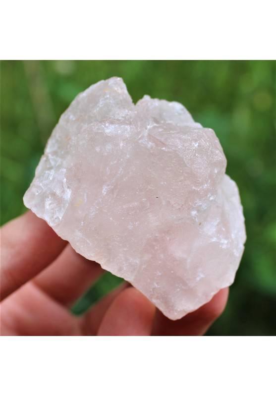 MINERALI * FLUORITE Grezza ROSA Cristalloterapia Chakra Reiki Collezionismo 172g-1