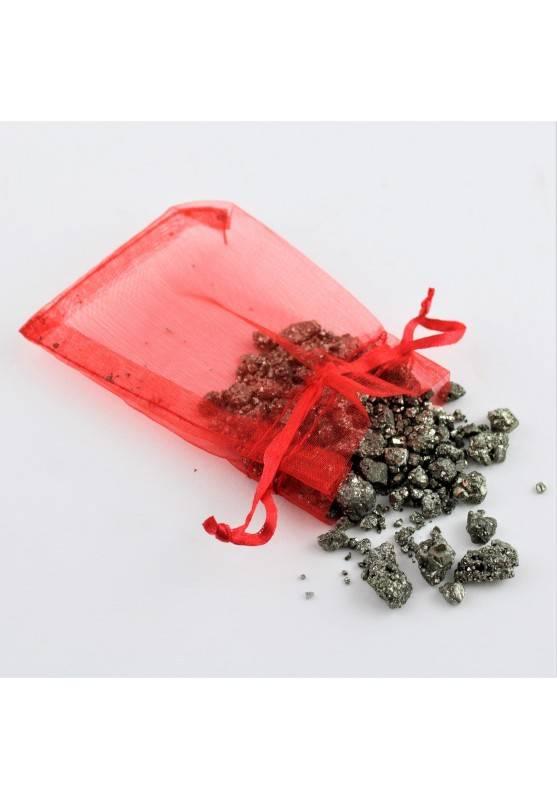 Minerali * PIRITE Grezza sacchetto 50g Collezionismo Cristalloterapia Chakra Zen-1