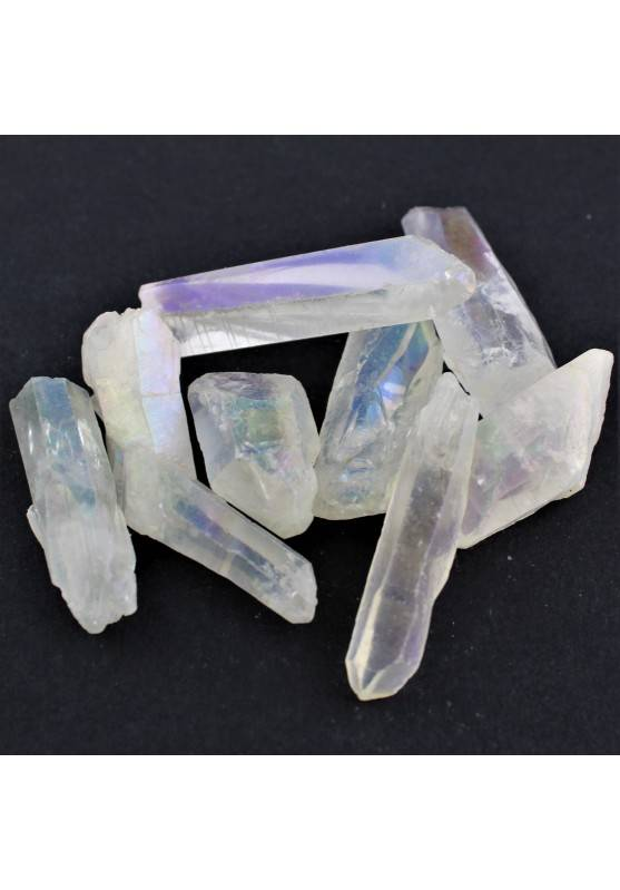 Puntas Natural AQUA AURA Minerales Terapia de Cristales Alta Calidad Chakra A+-1