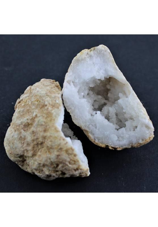 Minerali * Drusa Grezza Quarzo Geode Arredamento Collezionismo Cristalloterapia-1