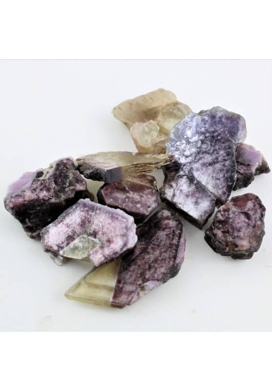 Grande Minerales Mica es lepidolita Laminar en Bruto Terapia de Cristales Chakra-1