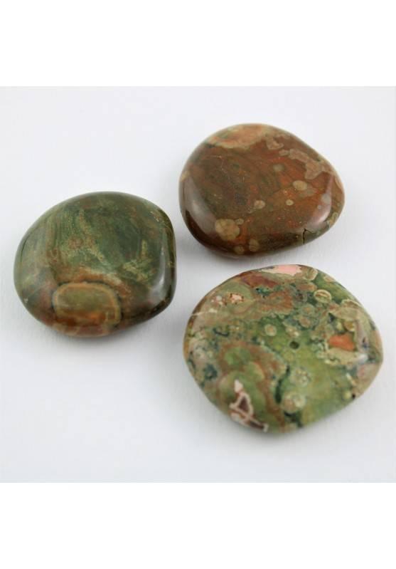 Palmstone RIOLITE Burattata GRANDE Qualità Extra Cristalloterapia Collezionismo-1