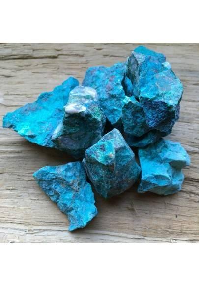 CRISOCOLLA GREZZO Silicati Minerale Ottimo Cristalloterapia Chakra Reiki A+-1