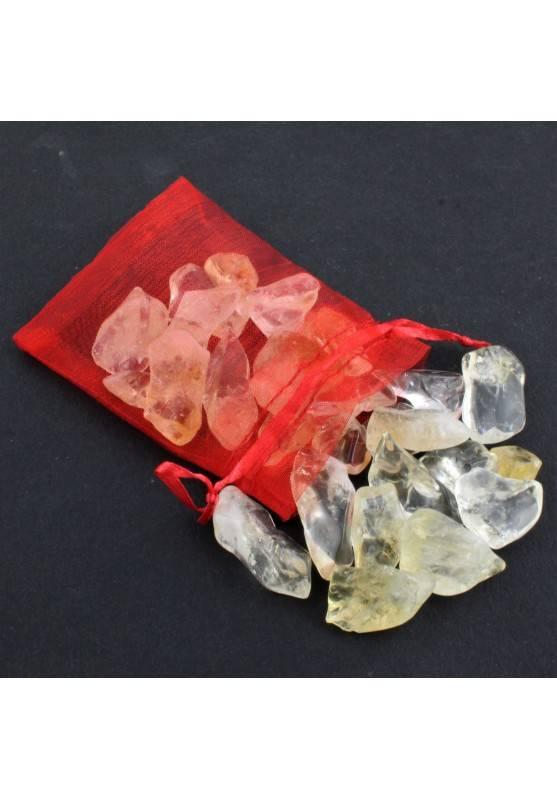 Quarzo Citrino Burattato Mignon 100g Cristalloterapia Minerali Orgonite Chakra-2