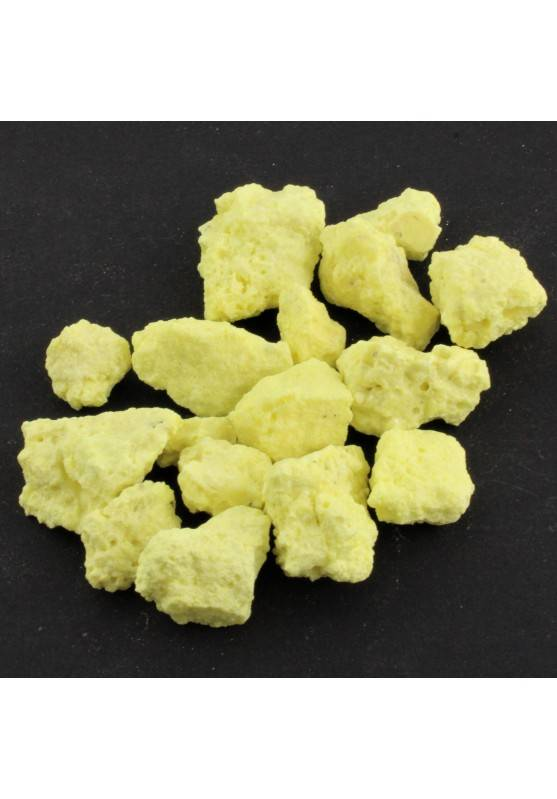 Minerals * Yellow Raw Sulfur Collectibles Native Elements Unpolished 2-9g-1