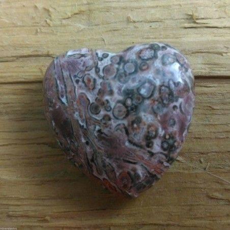 HEART in Orbicolar Ocean JASPER LOVE Crystal Healing Chakra VALENTINE'S DAY-1