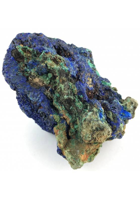 Beautiful Crystals in AZURITE with MALACHITE Specimen Chakra Quality A+-1