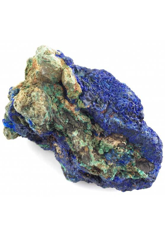 Beautiful Crystals in AZURITE with MALACHITE Specimen Chakra Quality A+-2