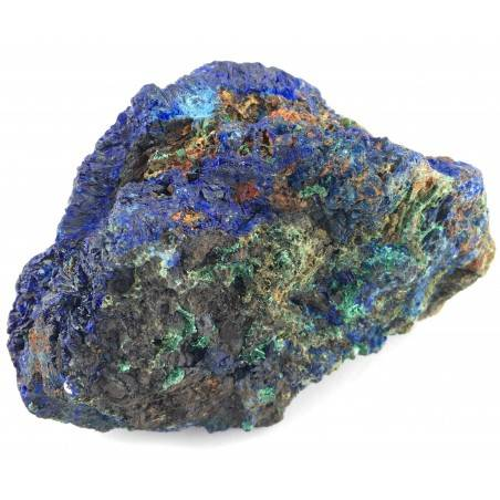 Beautiful Crystals in AZURITE with MALACHITE Specimen Chakra Quality A+-3