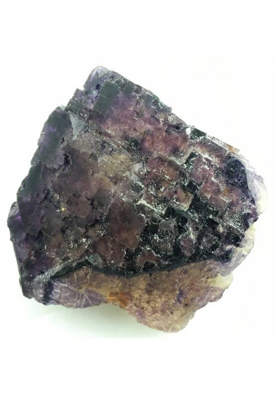 MINERALS Wonderful Specimen of Purple Fluorite del MEXICO Specimen Chakra A+-3