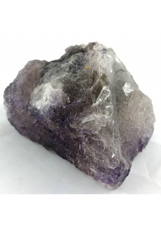Minerale Stupendo Campione di FLUORITE VIOLA con doppio Fantasma Messico Chakra-1