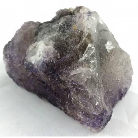 MINERALS Wonderful Specimen of Purple Fluorite with Double Spirit MEXICO Chakra-1