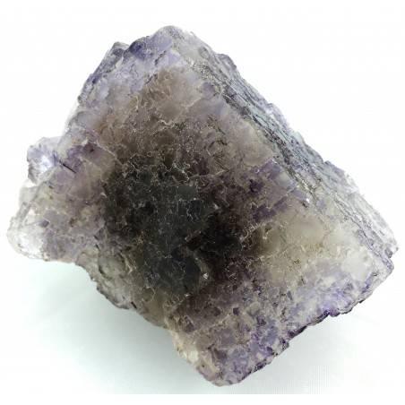 MINERALS Wonderful Specimen of Purple Fluorite with Double Spirit MEXICO Chakra-3
