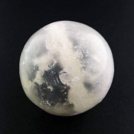 * MINERALS * SELENITE Sphere Angels Stone Ball Clear Energy Specimen A+-1