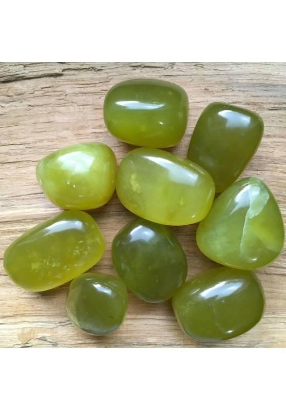 Olivine PERIDOT Tumbled Stone Crystal Healing [ Serpentine Tumbled Stone Chakra-1