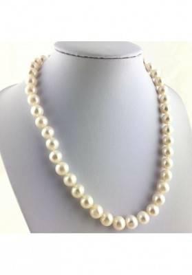 Precious Necklace PEARL SPHERIC High Quality A+ MINERALS Gift Idea Chakra Zen-2