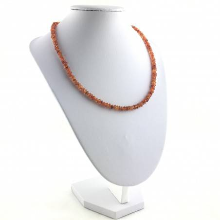 Perfect Necklace in CARNELIAN AGATE MINERALS Gift Idea Chakra Reiki High Quality A+-4