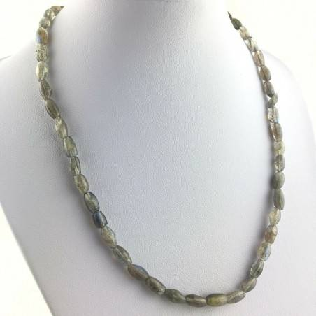 Wonderful Perfect Necklace in LABRADORITE with Reflections High Quality A+ MINERALS-1