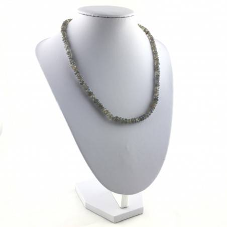 Wonderful Necklace in LABRADORITE Faceted High Quality A+ Riflessi Chakra Zen-4