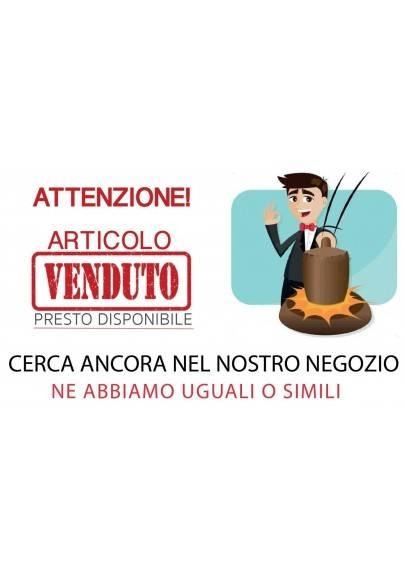 Ciondolo in CALCITE Burattata con Lato Grezzo e Argento 925 Invecchiato COLLANA-1