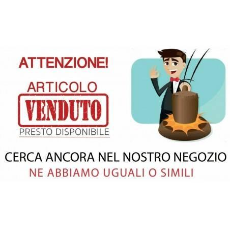 Portachiavi in CALCITE GREZZA SPATO D'ISLANDA con Spirale Placcata Argento A+-1