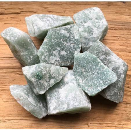 Rough Green Aventurine BIG Crystal Healing A+ [ Green Aventurine Rough ]-1