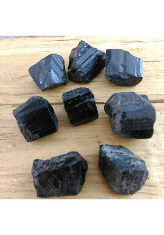 Rough Black Tourmaline Chakra NO ONDE Electromagnetic Anti Elecronegativity A+-1