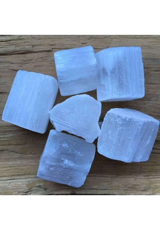 SELENITE GREZZA Brasile GRANDE Minerali Qualità Cristalloterapia Chakra Reiki A+-1