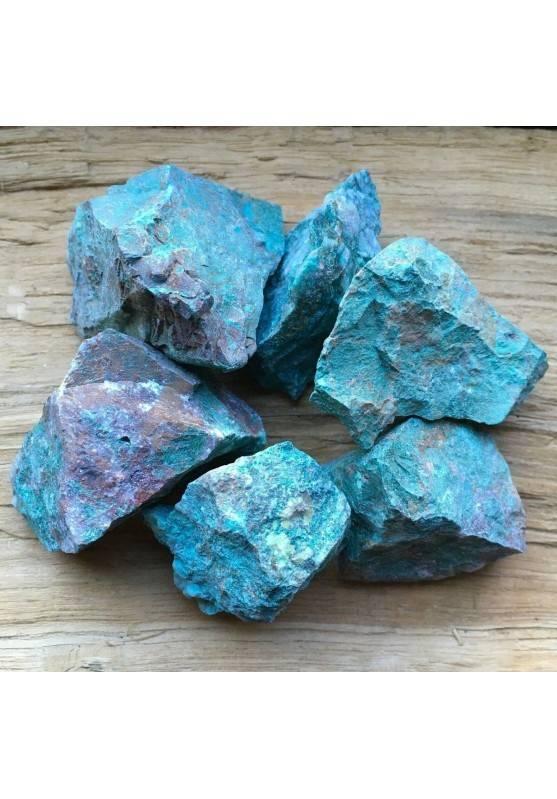 CRISOCOLLA GREZZO Silicati Minerale GRANDE Cristalloterapia Chakra Reiki A+-1
