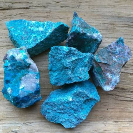ROUGH Chrysocolla MID SIZE MINERALS Crystal Healing A+ [ Rough Chrysocolla Rough MID-1