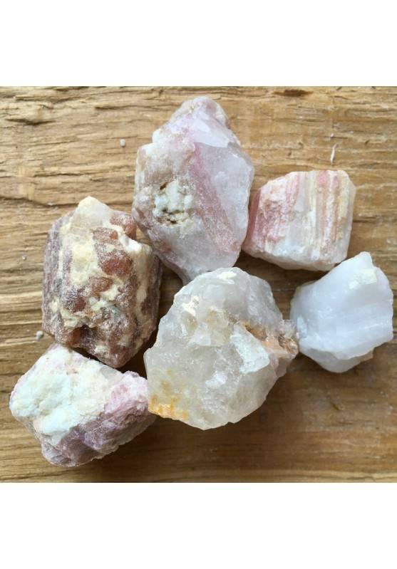 TORMALINA Rosa su Matrice GREZZO Minerale Cristalloterapia Chakra Reiki A+-1