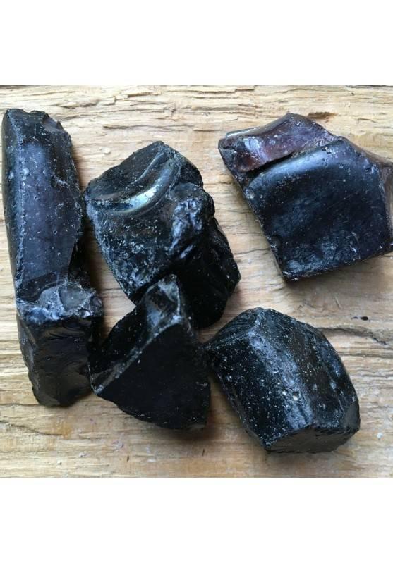 OSSIDIANA GREZZO Minerale Cristalloterapia Chakra A+ [PAGHI UNA SOLA SPEDIZIONE]-2