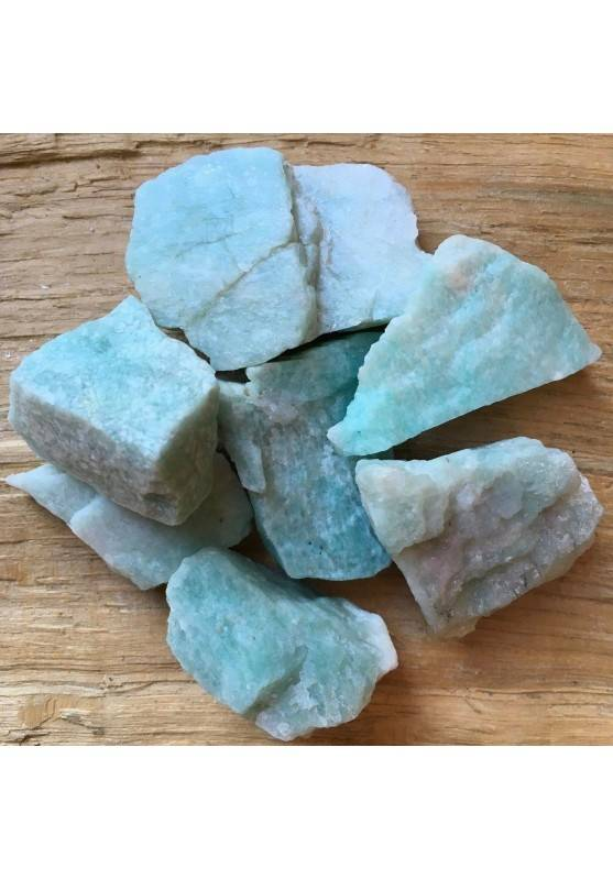 AMAZZONITE GREZZA Brasile Minerale Naturali Cristalloterapia Chakra A+-1