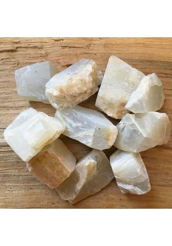 ADULARIA GREZZA Pietra di Luna Cristalloterapia A+[ Moonstone Rough Raw Stone ]-1