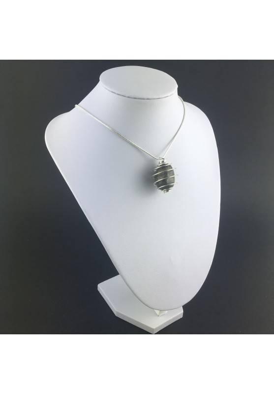 Pendant Pyrite - TAURUS CAPRICORN Zodiac Silver Plated Spiral Gift Idea A+-3