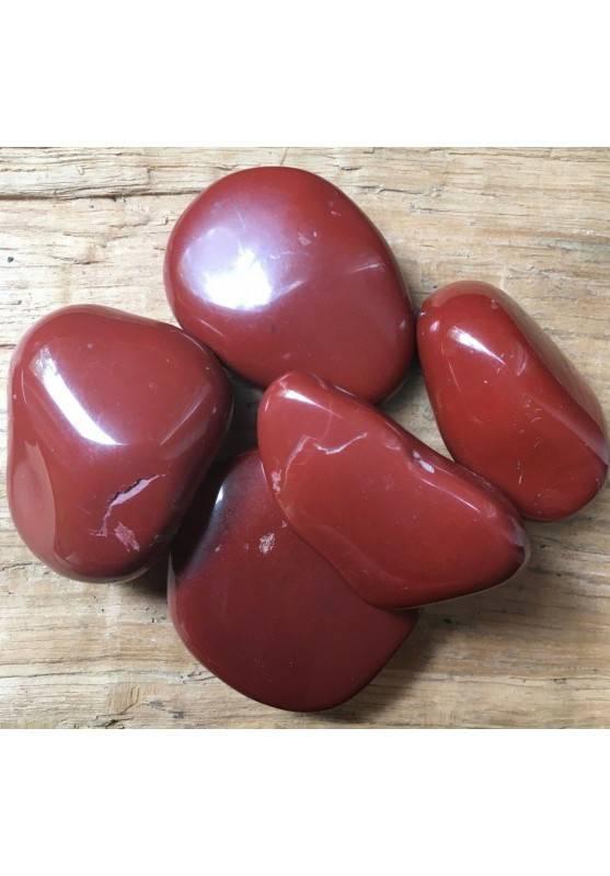 RED Jasper GIANT Tumbled Crystal MINERALS Crystal Healing Chakra A+-1