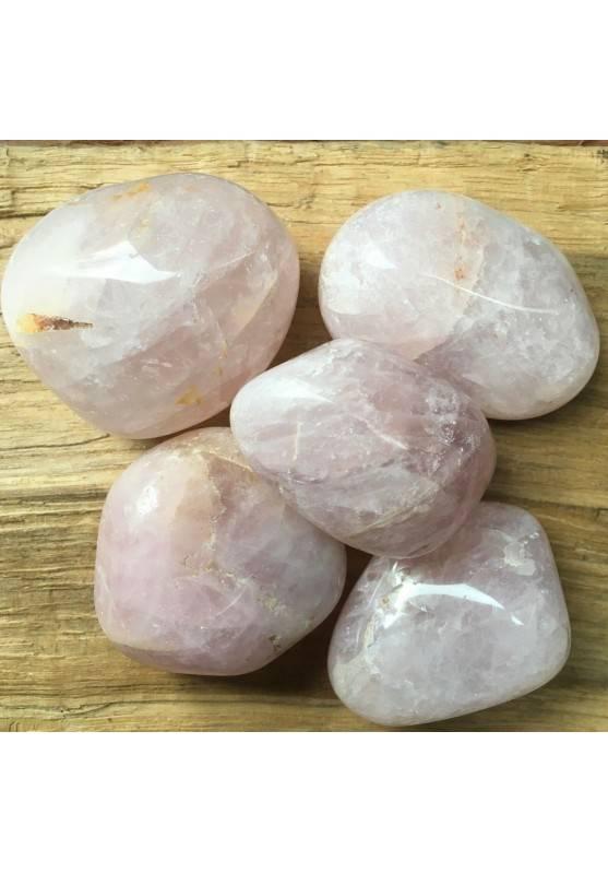 QUARZO ROSA BURATTATO GIGANTE Minerale Cristalloterapia Chakra Reiki Zen A+-1
