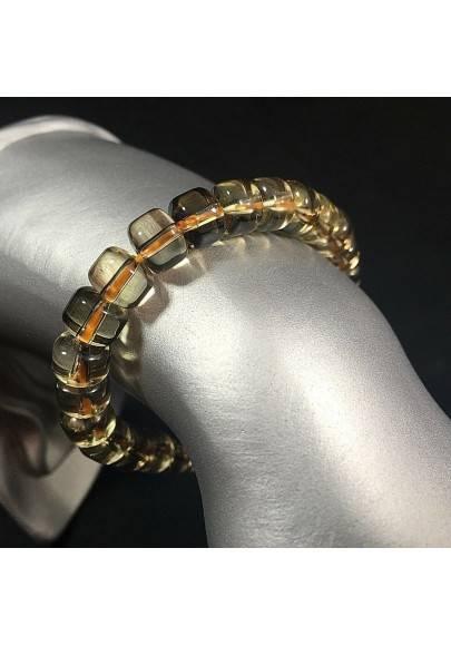 Smoked QUARTZ Bracelet Crystal Healing - CAPRICORN SAGITTARIUS A+-1