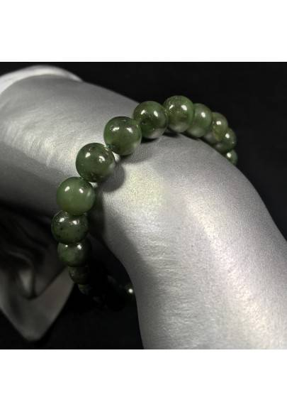 Tibetan Mala Bracelet in LABRADORITE Stones Crystal Healing Chakra A+-1