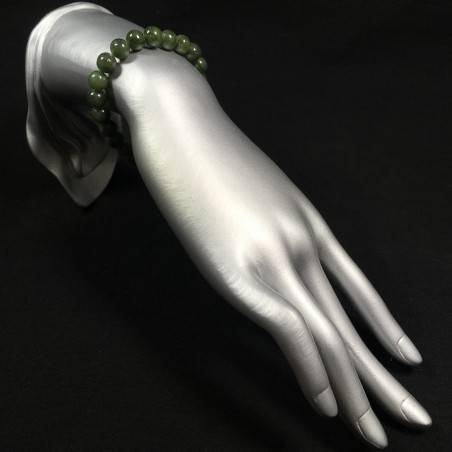 Tibetan Mala Bracelet in LABRADORITE Stones Crystal Healing Chakra A+-2