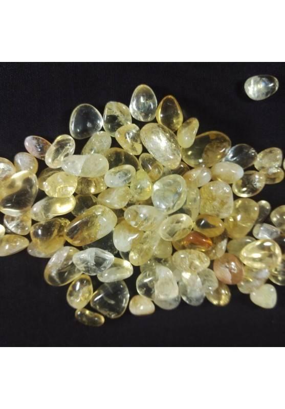 Quarzo Citrino Burattato Mignon250g Burattati Minerali Cristalloterapia Orgonite-1